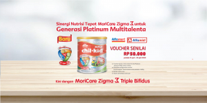Voucher Pembelian Morinaga Chil Kid Gold dan Morinaga Chil Kid Platinum di GO DEALS