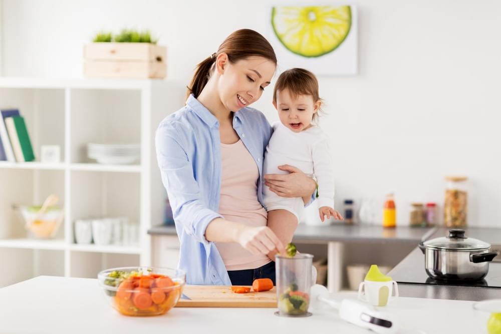 Healthy Digestion, the Start of an Optimal Growth and Development for the Little One