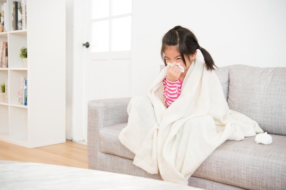 Tips to Manage The Little One Who is Suffering Cold Frequently