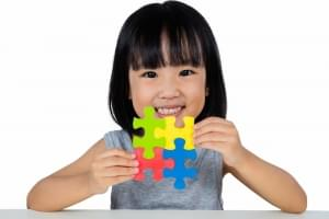 The Little One Can Get Smarter By Playing Puzzle