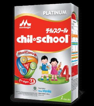 Chil School Platinum MoriCare Zigma Triple Bifidus Rasa Vanila 400gr