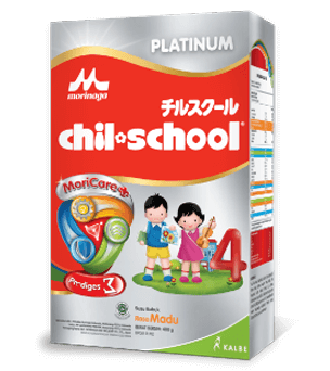 Chil School Platinum MoriCare Zigma Triple Bifidus Rasa Madu 400gr