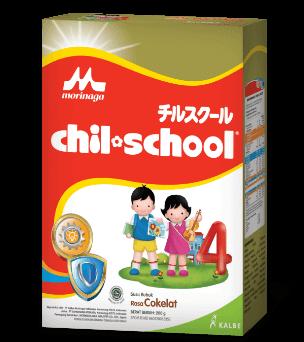 Chil School Gold Rasa Cokelat 200gr