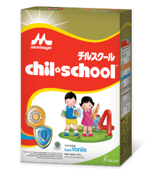 Chil School Gold Rasa Vanilla 200gr